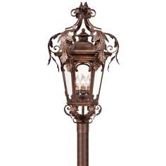 "Botana Grace 34 1/2"" High Outdoor Post Light"