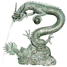Large Water Dragon Fountain