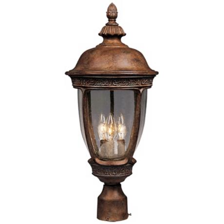 "Knob Hill Collection 28"" High Outdoor Post Light"