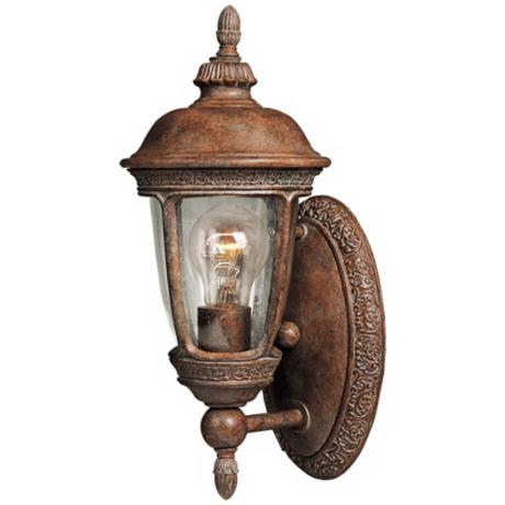 "Knob Hill Collection 14"" High Outdoor Wall Light"