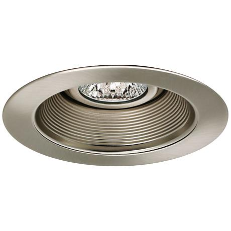"Intense 4"" Low Volt Satin Nickel Recessed Lighting Trim"