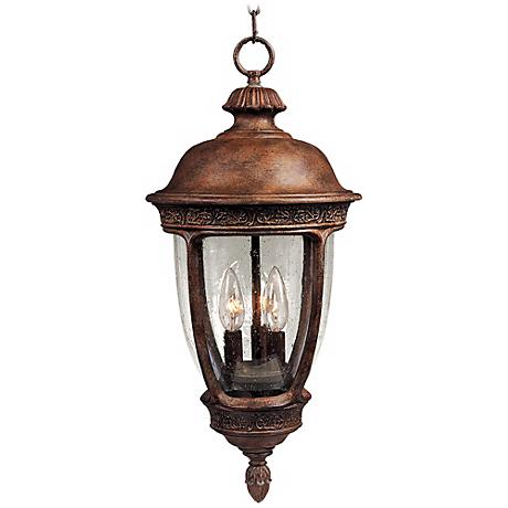 "Knob Hill Collection 26 1/2"" High Outdoor Hanging Light"