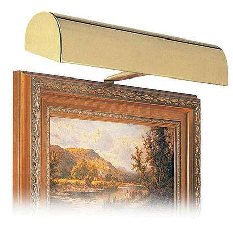 "House of Troy 14"" Wide Gold Finish Plug-in Picture Light"