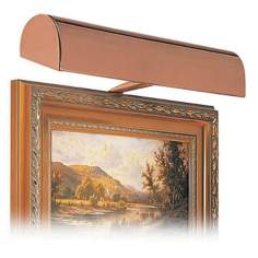 "House of Troy 14"" Wide Bronze Plug-In Picture Light"