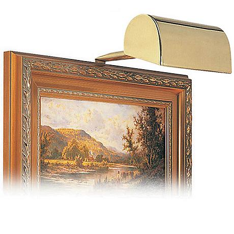"House of Troy 5"" Wide Gold Finish Plug-in Picture Light"