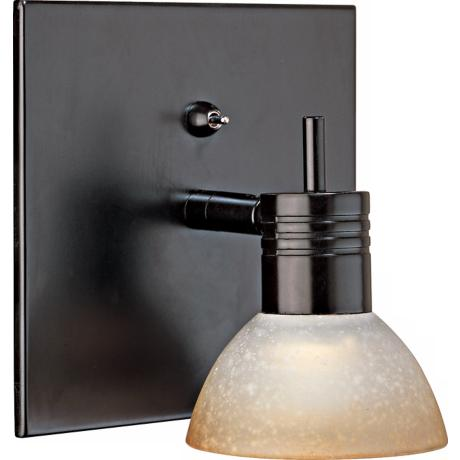 Modo Collection Adjustable Bronze Finish Wall Sconce