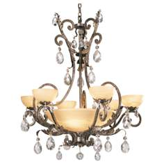 Fredrick Ramond Barcelona French Marble Chandelier
