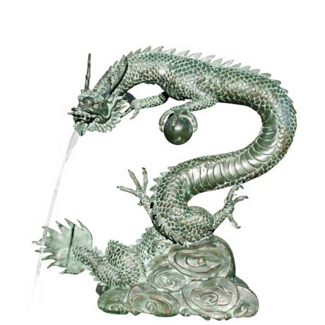 Small Water Dragon Fountain