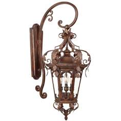 "Botana Grace 34 1/2"" Outdoor Wall Light Fixture"
