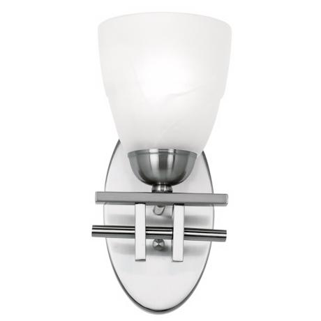 "Possini Deco Nickel Collection 10 1/2"" High Wall Sconce"