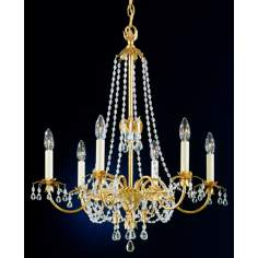 "Schonbek Adagio Collection 24"" Wide Chandelier"