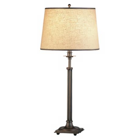 Rutherford Adjustable Dark Brass Table Lamp