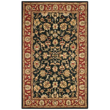 Natural Wool Collection Dunnington Area Rug