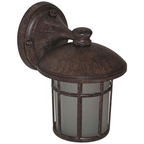"Cranston Rust 8 3/4"" High Outdoor Light"