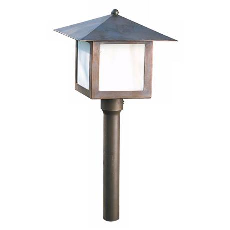 "Hadco Mission Copper 14 5/16"" High Landscape Light"