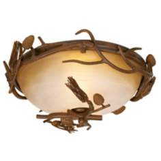"Pinecones Collection 15"" Wide Ceiling Light Fixture"