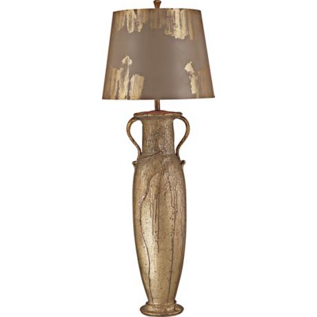 Flambeau Villere Gold Tall Buffet Urn Table Lamp