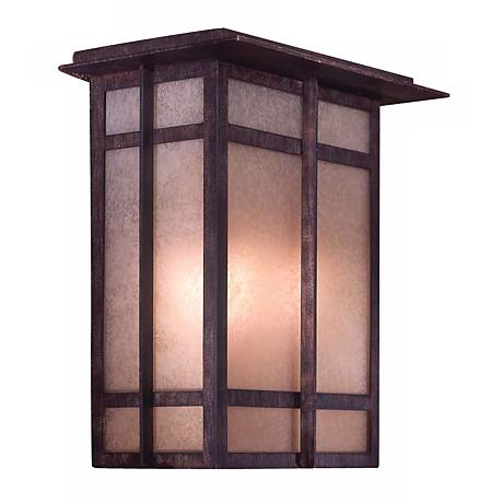 "Delancy 11 3/4"" High Outdoor Wall Light"