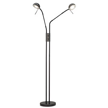 Black Modern Pharmacy Halogen Floor Lamp