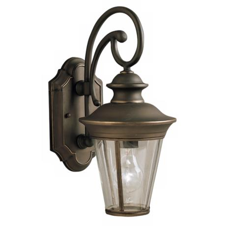 "Kichler Eau Claire 15"" High Outdoor Wall Light"