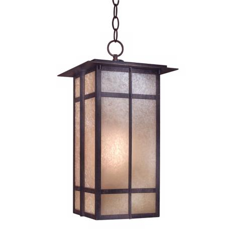 "Delancy Fluorescent 19 1/8"" High Outdoor Hanging Light"