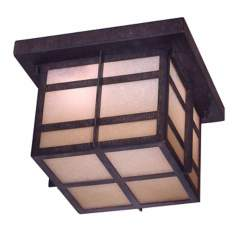 "Delancy 10"" Wide Indoor - Outdoor Energy Star Ceiling Light"