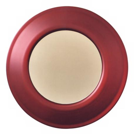 "Babette Holland Red 26"" Wide Wall Mirror"