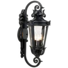 "Casa Marseille™ 21 1/2"" High Black Outdoor Wall Mount"