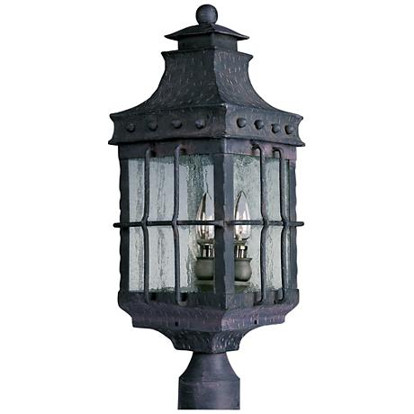 Old World Outdoor Post Mount Light