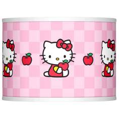 Hello Kitty Apples Lamp Shade 13.5x13.5x10 (Spider)