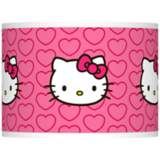 Hello Kitty Hearts Lamp Shade 13.5x13.5x10 (Spider)