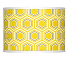 Honeycomb Giclee Glow Lamp Shade 13.5x13.5x10 (Spider)
