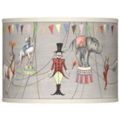 Circus Time Giclee Lamp Shade 13.5x13.5x10 (Spider)