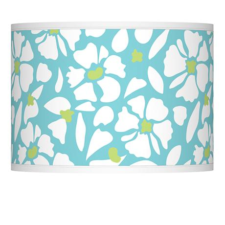 Floral Fun Giclee Lamp Shade 13.5x13.5x10 (Spider)