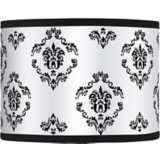 French Crest Giclee Lamp Shade 13.5x13.5x10 (Spider)