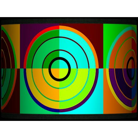Circle Parade Giclee Glow Shade 13.5x13.5x10 (Spider)