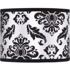 Black Filigree Giclee Glow Shade 13.5x13.5x10 (Spider)