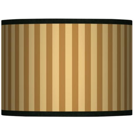 Butterscotch Vertical Giclee Lamp Shade 13.5x13.5x10 (Spider)