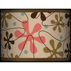 Retro Giclee Glow Lamp Shade 13.5x13.5x10 (Spider)
