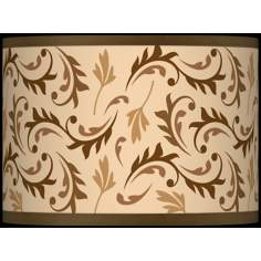 Fall Breeze Giclee Glow Lamp Shade 13.5x13.5x10 (Spider)