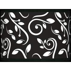 Swirling Vines Giclee Glow Lamp Shade 13.5x13.5x10 (Spider)