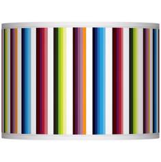 Technocolors Giclee Glow Lamp Shade 13.5x13.5x10 (Spider)