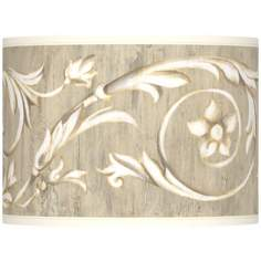 Laurel Court Giclee Glow Lamp Shade 13.5x13.5x10 (Spider)