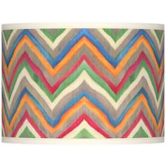 Canyon Waves Giclee Lamp Shade 13.5x13.5x10 (Spider)