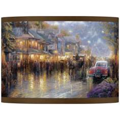 Thomas Kinkade Mountain Memories Shade 13.5x13.5x10