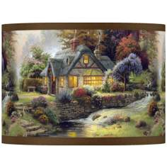 Thomas Kinkade Stillwater Cottage Shade 13.5x13.5x10