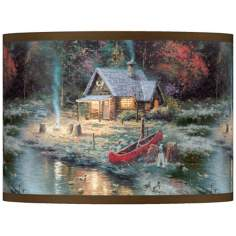 "Thomas Kinkade The End Of A Perfect Day II 10""H Shade"