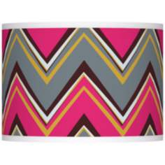 Stacy Garcia Chevron Pride Pink Shade 13.5x13.5x10 (Spider)