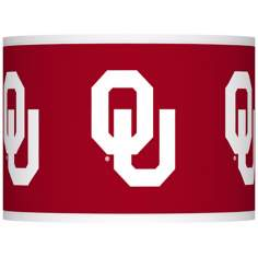 The University of Oklahoma Lamp Shade 13.5x13.5x10 (Spider)