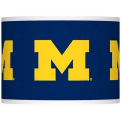 The University of Michigan Lamp Shade 13.5x13.5x10 (Spider)